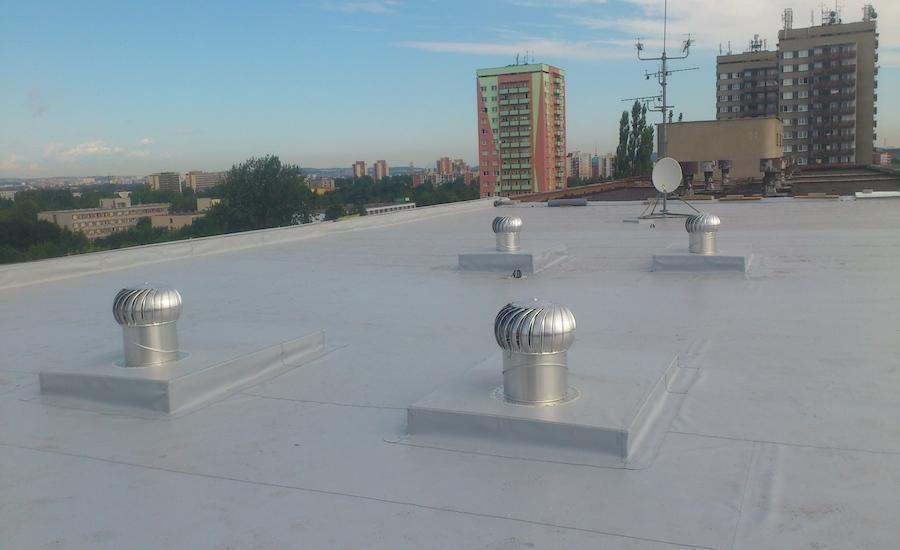 9-Oprava-ploché-střechy-panelového-domu-1, Ostrava