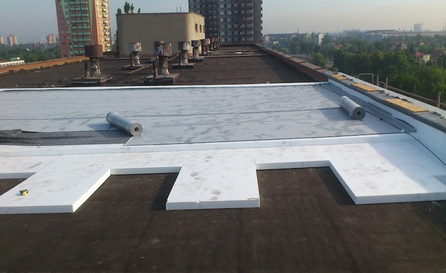 9-Oprava-ploché-střechy-panelového-domu-3, Ostrava