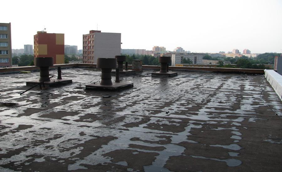 9-Oprava-ploché-střechy-panelového-domu-4, Ostrava